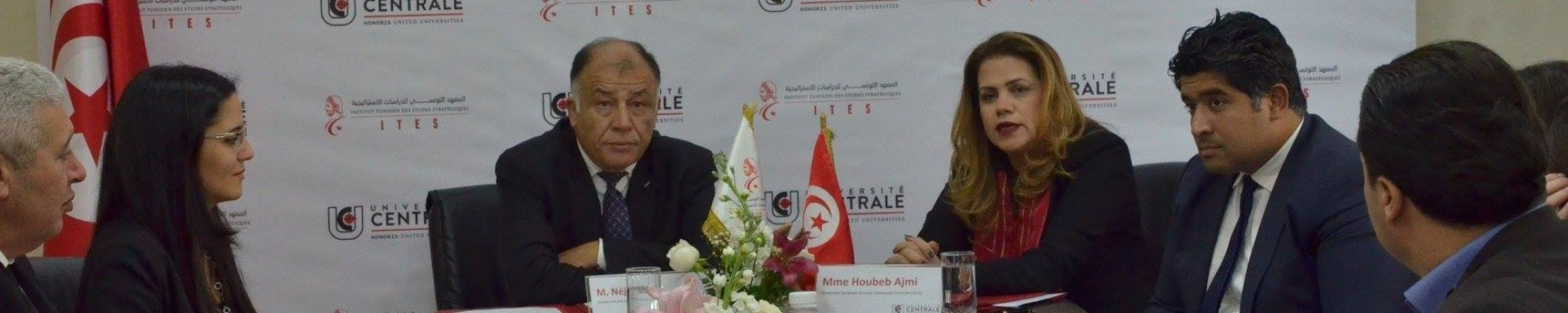 CONVENTION GROUPE UNIVERSITE CENTRALE – INSTITUT TUNISIEN DES ETUDES STRATEGIQUES