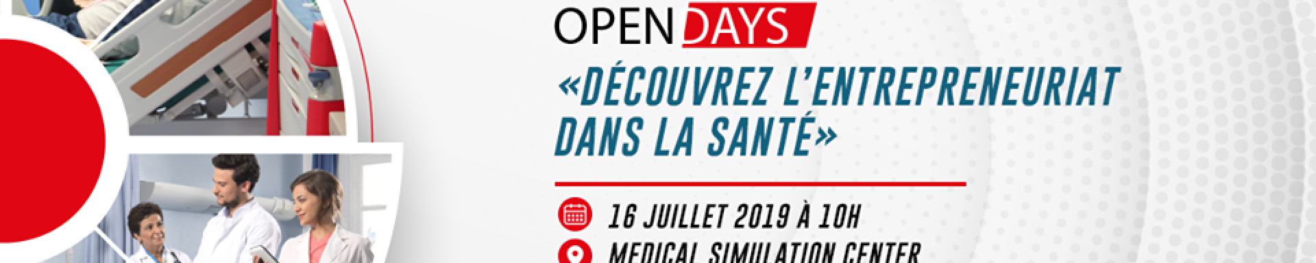 Open Days Ecole Paramédicale