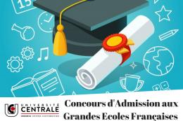 Concours d'admission aux grandes écoles d'ingénieurs françaises Rentrée universitaire 2018-2019
