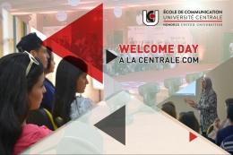 Welcome day a la centrale com